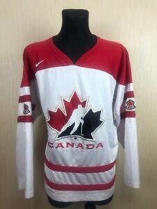 TEAM CANADA OLYMPIC HOCKEY JERSEY SHIRT NIKE BAUER ADULT SIZE XL