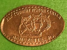 Elk Country Visitor Center Horses Pressed Elongated Penny Copper