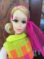 Vintage 1970 Barbie Blond Walking Jamie Doll #1132 Sears Exclusive