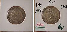 Ned km 184 1 fiorini 1957 in SS +
