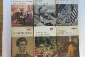 American Heritage Junior Library Book- U-pick 1 for  $12.00