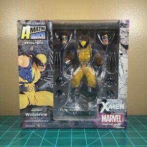 AMAZING YAMAGUCHI Wolverine Marvel Action Figure Import Revoltech Kaiyodo No 005