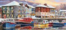 Gibsons - 636 PIECE PANORAMIC JIGSAW PUZZLE - Padstow In Winter