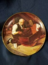 "Knowles collector plates Norman Rockwell ""Grandpa'