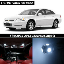 2006-2013 Chevrolet Impala White Interior LED Lights Package Kit