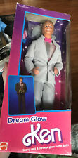 New 1985 DREAN GLOW KEN doll Vest & Corsage Glow in the Dark, Mattel 2250 NIB