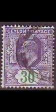 CEYLON SRI LANKA [1904] MiNr 0156 ( O/used )