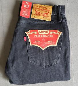 Herren Jungen Jeans Warm Jeans LEVIS LEVI´S 511 Slim W29 L34