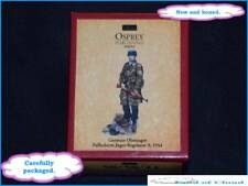 W. Britain WWII 2 25005 Osprey Art Series German Oberjager Fallschirm Jager 1944