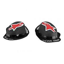 Nuevo Alpinestars Lluvia Gp Moto Racing Rodilla deslizadores Negro/rojo
