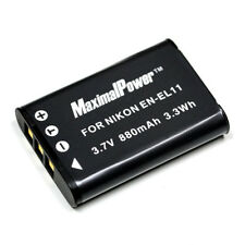 Lithium Ion Battery for Olympus FE-370 Nikon CoolPix S550