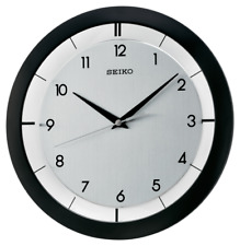 *BRAND NEW* Seiko St. James Metal Wall Clock QXA520KLH