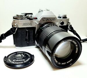 Vintage CANON AE-1 35mm SLR Film Camera