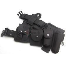 Tactical EMT Security Police SWAT Duty Utility Belt W Multifunction Holsters USA