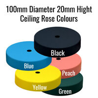 Ceiling Rose Pendant Cable Grip Flex Clamp Plate For Light Fitting 100mm x 20mm