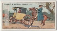 "Jerry Abershaw  ""The Laughing Highwayman"" Bandit 90+ Y/O Ad Trade Card"