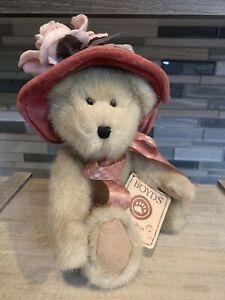 Boyds Bears The Head Bean Collection Rosanna Dubeary Plush Hats and Such Series