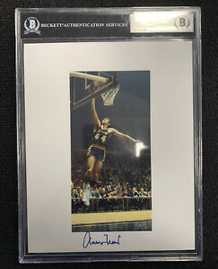 2020 Leaf Autographed Basketball Photograph Jerry West BGS 🔥🔥📈 Lakers
