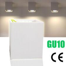 LED Aufbaustrahler Deckenlampe Wandleuchte Lampe GU10 Downlight Weiss CE 230V