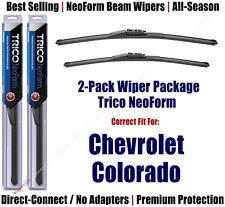 2-Pk Super-Premium NeoForm Wipers fit 2015-2018 Chevrolet Colorado - 162213/1715