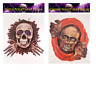 Halloween Toilet Seat Sticker Decal Cover Spooky Scary Zombie  Party Decoration.