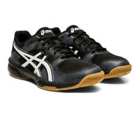 Asics Girls Gel-Tactic 2 GS Court Shoes - Black Sports Handball Breathable