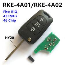 Car Remote Key fob for KIA RIO RKE-4A01 or RKE-4A02 CE 433-EU-TP HY20