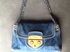 Prada Denim Handbag original with certificate