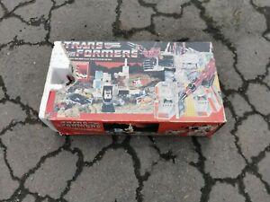 Vintage 80s Transformers G1 - Autobot Battle Station Metroplex