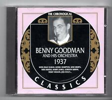 (JW653) The Chronological Classics: Benny Goodman & His Orchestra, 1937- 1996 CD