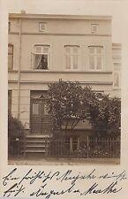 H 494 -Lübeck, Vintage, unbekanntes Haus mit Nr. 7c, 1909 gelaufen