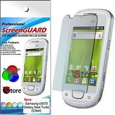 5 Pellicole Per Samsung S5570 GALAXY NEXT TURBO Pellicola Salva Schermo Display