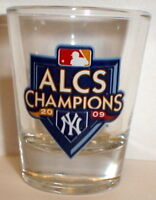 2009 WORLD SERIES SHOT GLASS NY YANKEES ALCS