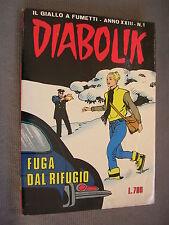 DIABOLIK ORIGINALE ANNO XXIII n°  1 - 1984 - RARO - OTTIMO