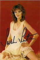 SARAH SUTTON DR WHO NYSSA SIGNED AUTOGRAPH 6 x 4 PRE PRINTED PHOTO POSTCARD SIZE