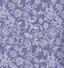 COTTON QUILT FABRIC: 47520-402TS LAVENDER TONAL SCROLL BY THE YARD, 100% Cotton
