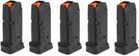 5 MAGPUL Glock 26 Magazines 10rd 9mm Mag