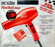 Andis 85105 Dryer Rocket 2000 1875 Watt Hair Dryer With Air Concentrator