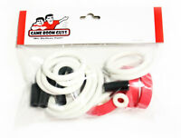 Bally NBA Fastbreak Pinball Machine Replacement Repair Rubber Ring Kit White