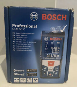 BOSCH GLM 50 C LASER MEASURE Brand New And Sealed