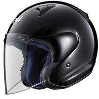 ARAI SZ-F OPEN FACED MOTORCYCLE COMMUTER TOURING CRASH HELMET DIAMOND BLACK