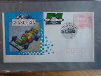 AUSTRALIA 1991 ADELAIDE F1 GP 4th RACE DAY BLUE FRAMA SOUVENIR COVER