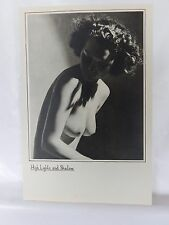 Boudoir Salon 1940s 50s  Decor Vintage print from photographers studio  Nude 1.8