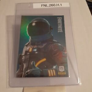 Fortnite Dark Voyager 260 holo foil trading card legendary outfit 2019 Panini