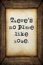 There's No Place Like Home : A 6 X 9 Lined Journal Notebook by S. O. S.O....