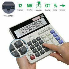 12digit Basic Calculator Portable Handheld Electronic Business Office Calculator