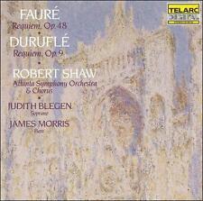 Fauré · Duruflé - Requiem / J. Blegen · J. Morris · Atlanta SO · Shaw, New Music