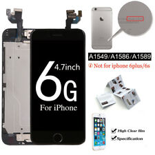 For iPhone 6 4.7 Complete Touch Screen Replacement LCD Digitizer+ Button Black