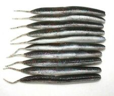 10 x 12cm Soft Plastic Fishing Lure Wrasse Bass Pike Perch Stick Bait