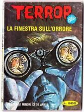 1981 Italian erotic horror comic TERROR LA FINESTRA SULL'ORRORE